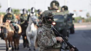 Agentes de la Patrulla Fronteriza de Estados Unidos