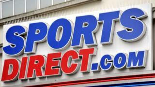 Sports Direct sign