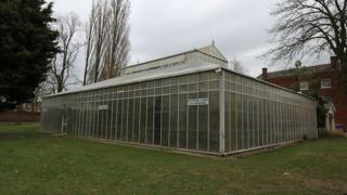 Exterior of the conservatory