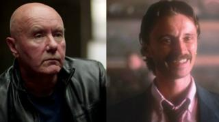 Irvine Welsh and Robert Carlyle