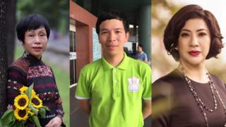 TS Lê Minh Hà, BS Phan Đình Hiệp và doanh nhân Lê Hoài Anh