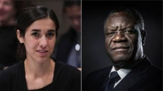 Надя Мурад та Деніс Муквеге