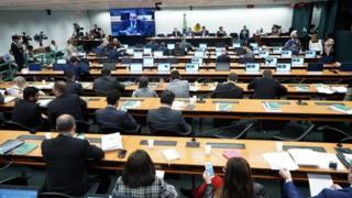 Sessão da comissão especial da reforma da Previdência