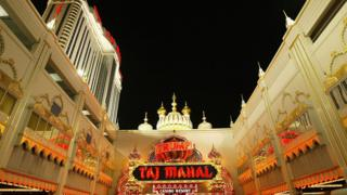 El Trump Taj Mahal en Atlantic City