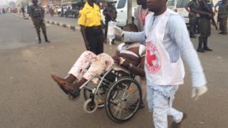 in wheelchair, Kano
