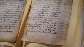 Copia de las Glosas Emilianenses.