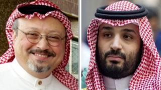 سعودی ولی عہد شہزادہ سلمان اور صحافی خاشقجی