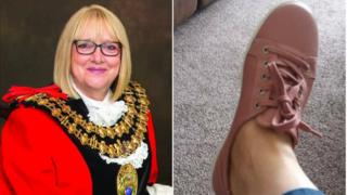 Councillor Laura Booth/shoes