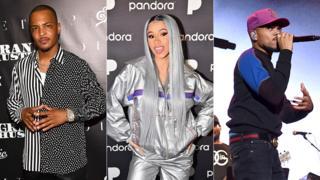 T.I, Cardi B and Chance the Rapper