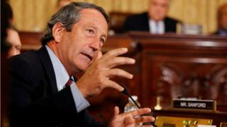 Mark Sanford on Capitol Hill in Washington in December 2014