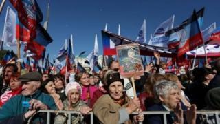 Мітинг прихильників ДНР