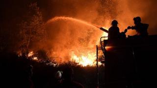 Incêndio em Portugal