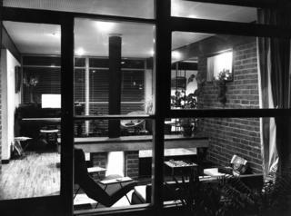 Inside the newly-built home of Edward Hartry/Herzbaum