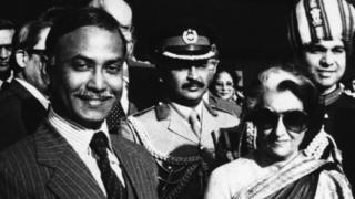 इंदिरा गांधी और ज़ियाउर रहमान