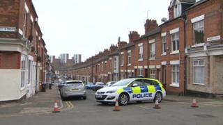 Warwick Street closed off by police