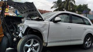 road accident car crash