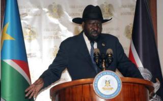 Prezida wa Sudan y'epfo, Salva Kiir, yatangaje ibihe bidasanzwe mu karere ko mu buraruko bushira uburengero bw'ico gihugu