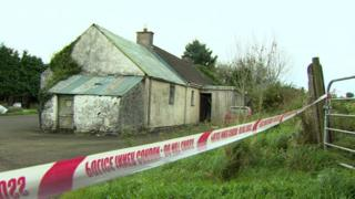 The body of the man was found at an address on Townhill Road