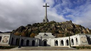 The Valley of the Fallen, close to Madrid