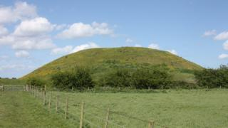 Iron Age mound at Skipsea Castle