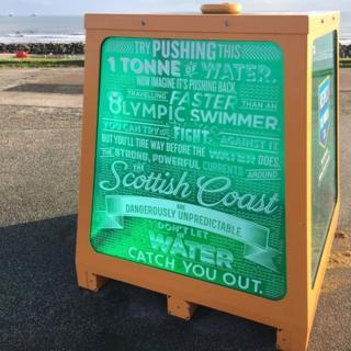Beach water test