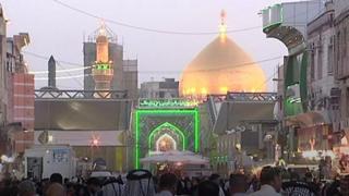 مدينة النجف في العراق تعيش أجواء احتفال عيد الغدير، وهو أحد أهم المناسبات عند المسلمين الشيعة. ولتي أثرت على قوة العملة الإيرانية.