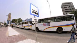 Les grévistes protestent contre ''la mauvaise gestion'' de la société publique de transport en commun Transco