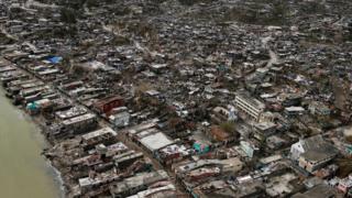 Matthew Kasırgası, Karayipler'i etkileyen son 10 yılın en kuvvetli kasırgası.