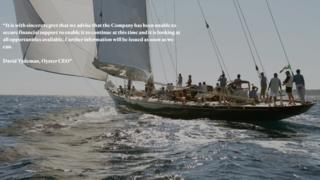 Oyster Yachts website
