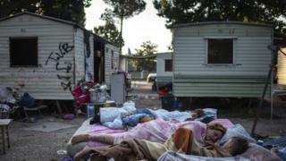 Roma at River Village, 24 July 18