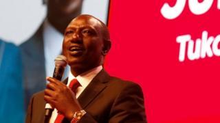 Madaxweyne xigeenka Kenya, William Ruto