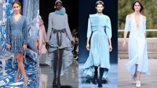 从左到右: Alice + Olivia, Marc Jacobs, Givenchy, Roland Mouret