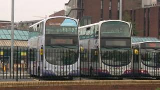 buses in Leeds