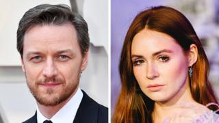 James McAvoy's first name has stood the test of time but Karen Gillan's has almost disappeared