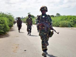 Burundi ina wanjeshi 5,400 katika kikosi cha Amison