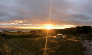 Sunset at Badicaul, by Kyle.