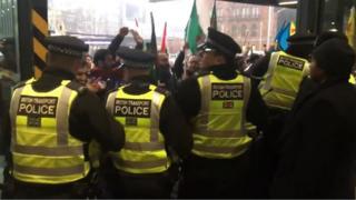 Police at Kings Cross