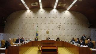 Plenário do STF reunido