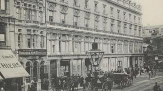 Cardiff Howell's store in 1893
