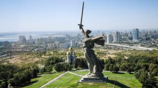 'The Motherland Calls' statue is the largest statue of a woman in the world.