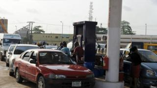 Fuel Scarcity dey worry for Nigeria especiall during festive period.