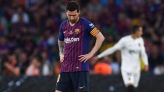 Lionel Messi dey para