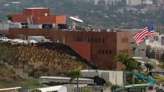Embajada de EE.UU. en Caracas.