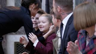 Victoria Beckham family
