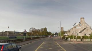 A96 in Nairn