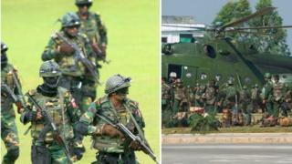 বাংলাদেশ ও মিয়ানমারের সেনাবাহিনী