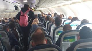 Aer Lingus flight from Belfast to Heathrow, 4 May 2020
