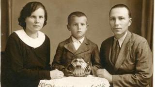 Семья Филиппа Васильченко, Будапешт, 1936 год