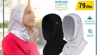 The Moroccan ad for the running hijab