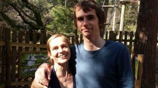 Adele Proctor and Josh Walker